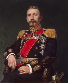 """Portrait of Admiral A. I. Rusin"""