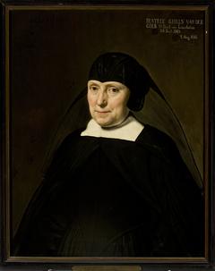 Portrait of Beatrix Gibels van Linschoten