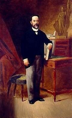 Portrait of Dr. Manoel Lopes de Oliveira