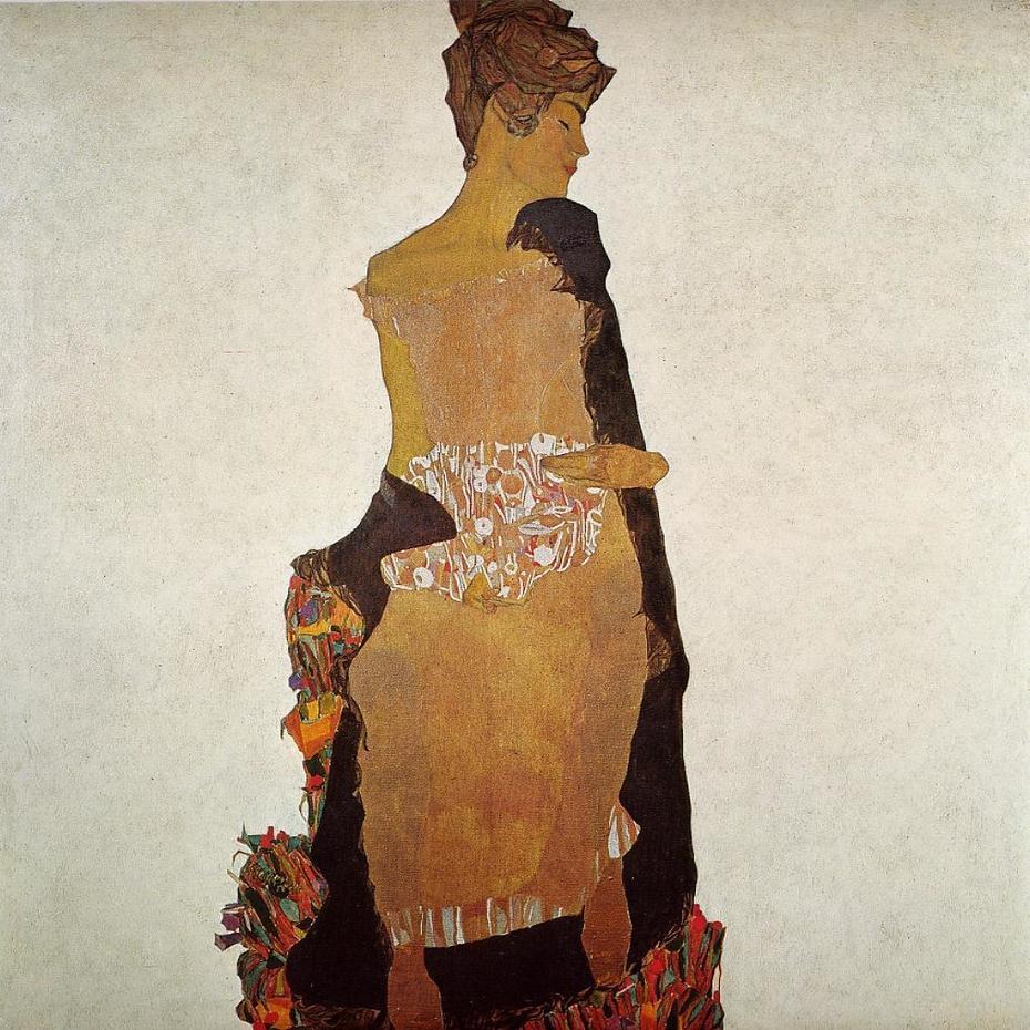 Portrait of Gerti Schiele