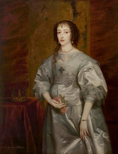 Portrait of Henrietta Maria of France, Queen of England, Scotland and Ireland