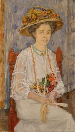 Portrait of Ingeborg Lercke