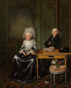 Portrait of Jacob Feitama (1726-1797) and his Wife, Elisabeth de Haan (1735-1800)