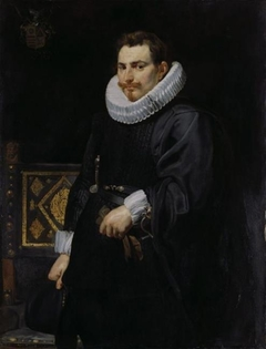 Portrait of Jan Vermoelen (1589-1656), supreme commander of the Spanish fleet, 1616