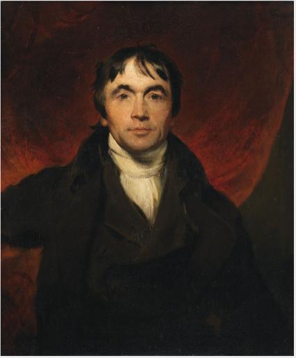 Portrait of John Philpot Curran (1750-1817), Orator and Statesman
