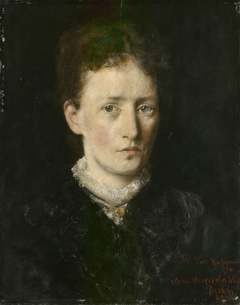 Portrait of Karen Marie Bætzmann, b. Fougner
