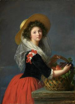 Portrait of Marie Gabrielle de Gramont, Duchesse de Caderousse