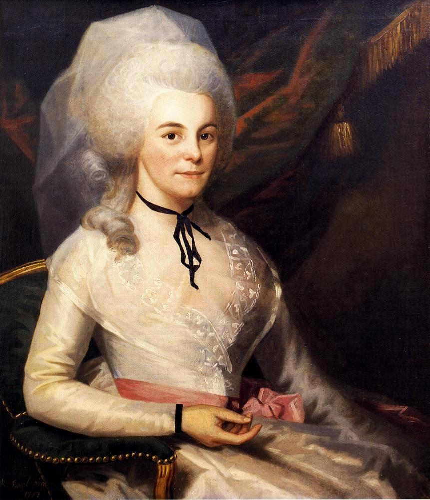 Portrait of Mrs. Alexander Hamilton