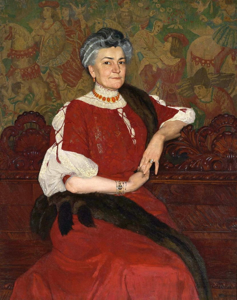 Portrait of Mrs Herse.