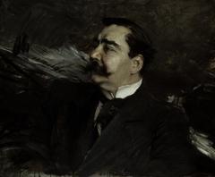 Portrait of Ruggiero Leoncavallo, 1858-1919