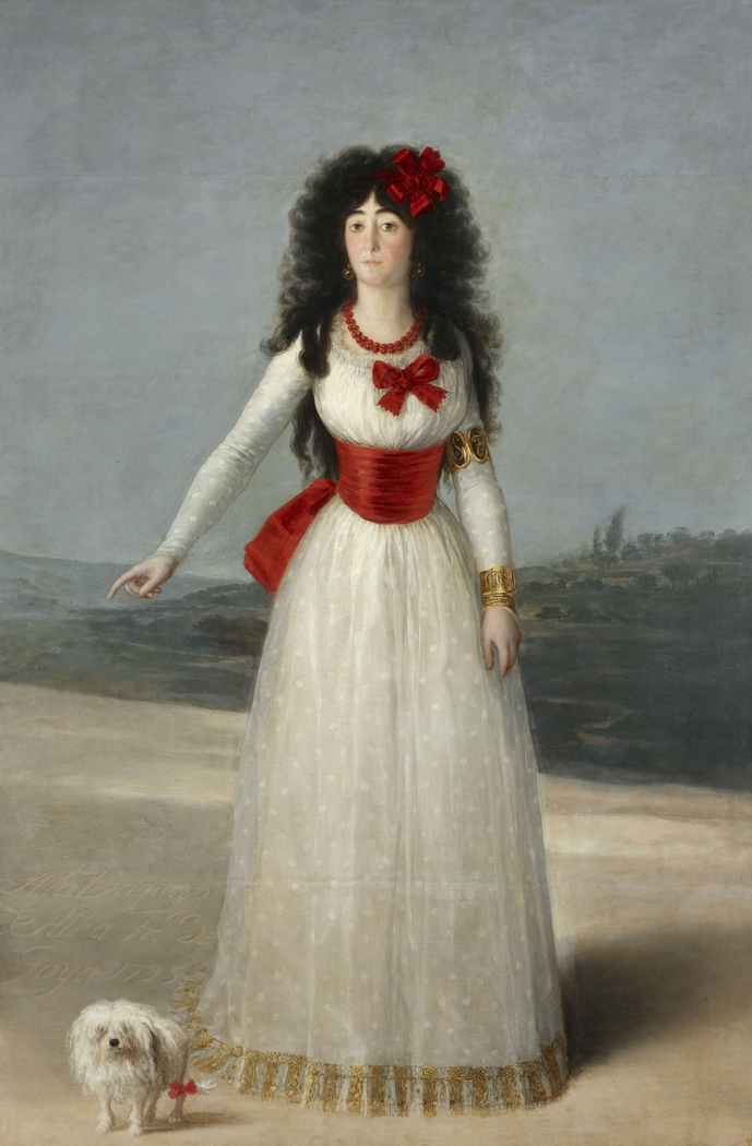Portrait of the Duchess of Alba