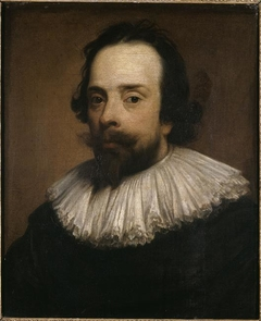 Portrait of the painter Anthony van Opstal