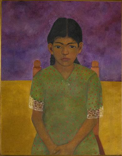 Portrait of Virginia (Little girl)