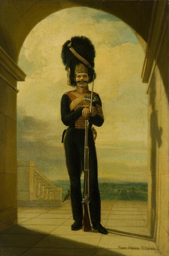 Portrait of Yegor Getgort (Etgort) (1788-1857)