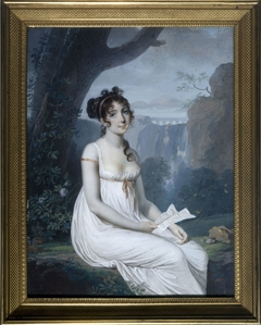 Portrait présumé de la cantatrice Carolina Bianchi