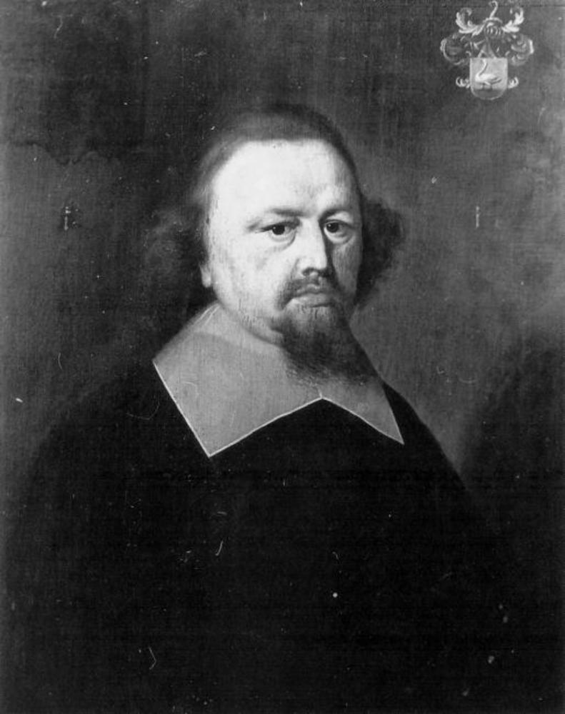 Portret van Dirck (of Theodorus) Fogelsangh