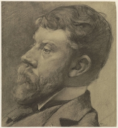 Portret van George Hendrik Breitner