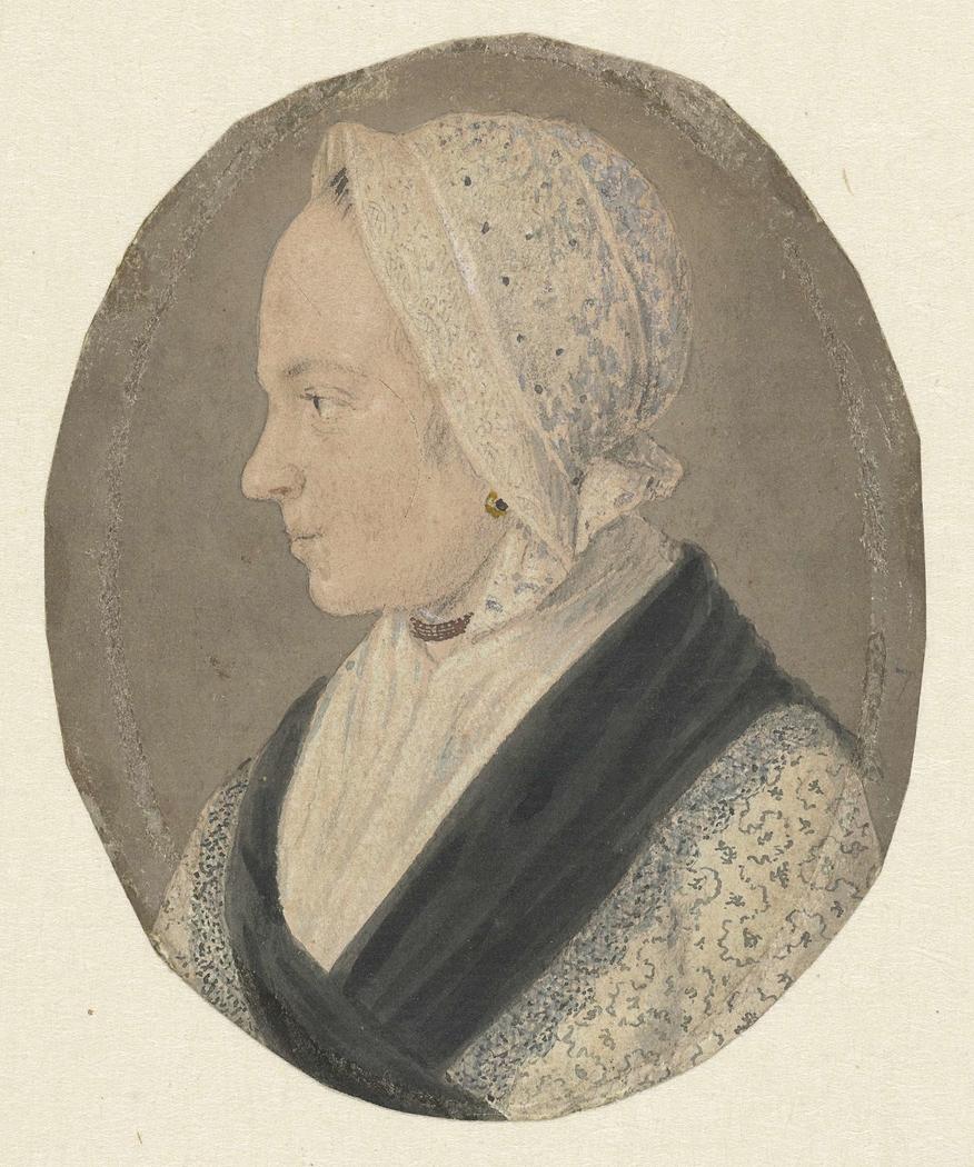 Portret van Willemijntje van den Bos