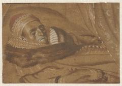 Prins Maurits op zijn doodsbed