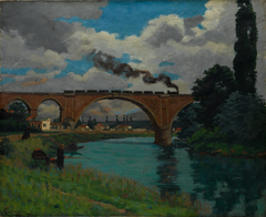 Railroad Bridge over the Marne at Joinville