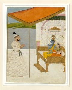 Raja Balwant Singh's Vision of Krishna and Radha