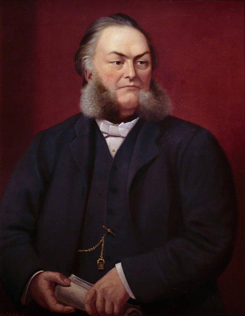 Reverend Herber Evans (1836–1896), DD