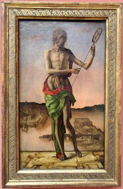 Saint John the Baptist by Ercole de' Roberti