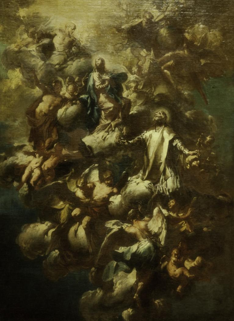 Saint Philip Neri in Glory