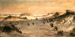 Sand Dunes at Sunset, Atlantic City