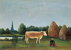 Scene in Bagneux on the Outskirts of Paris
