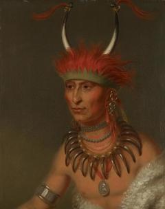 Shaumonekusse, Oto Half Chief (Husband of Eagle of Delight)
