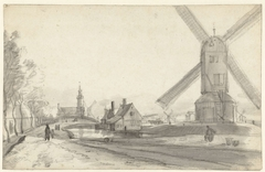 Stadswallen van Amsterdam bij de Haarlemmerpoort