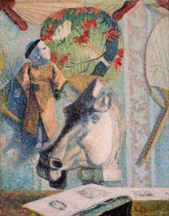 Still Life with Horse's Head