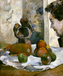 Still Life with Profile of Laval
