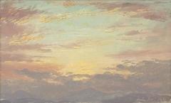 Sunset on July 26, 1870
