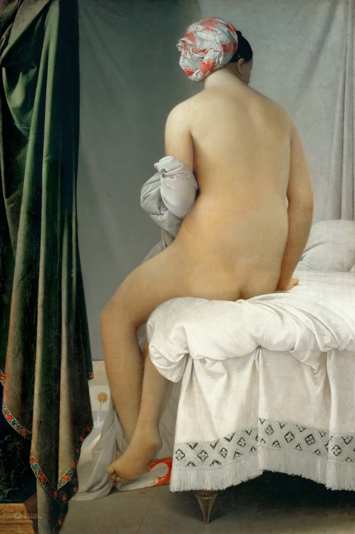 The Bather, known as the Valpinçon Bather
