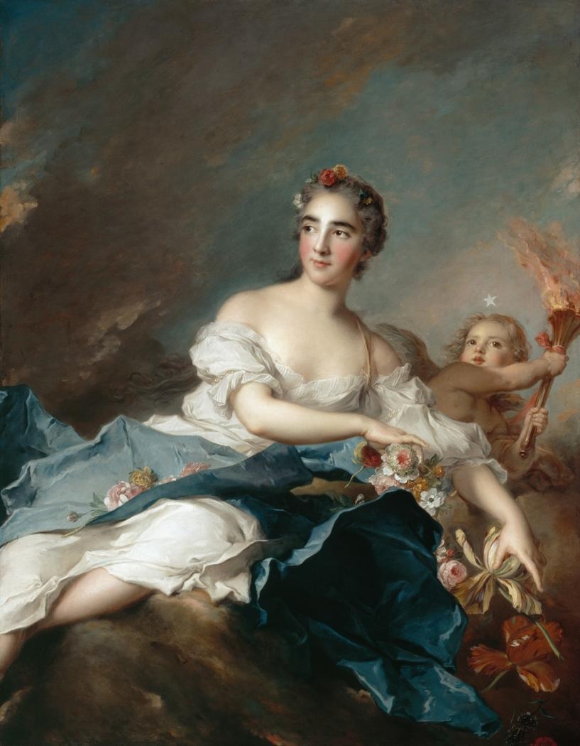 The Countess de Brac as Aurora