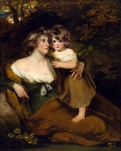 The Countess of Darnley and her Daughter, Lady Elizabeth Bligh