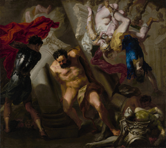 The Death of Samson