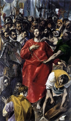 The Disrobing of Christ. Contini Bonacossi Collection
