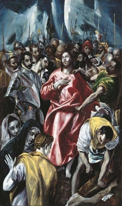 The Disrobing of Christ. Private collection
