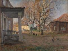 The Farm Vøyenvollen in Oslo in late Autumn