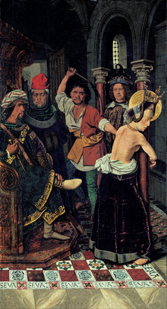 The Flagellation of St Engracia