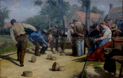 The Game of Bourle in Flanders