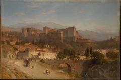 The Hill of the Alhambra, Granada