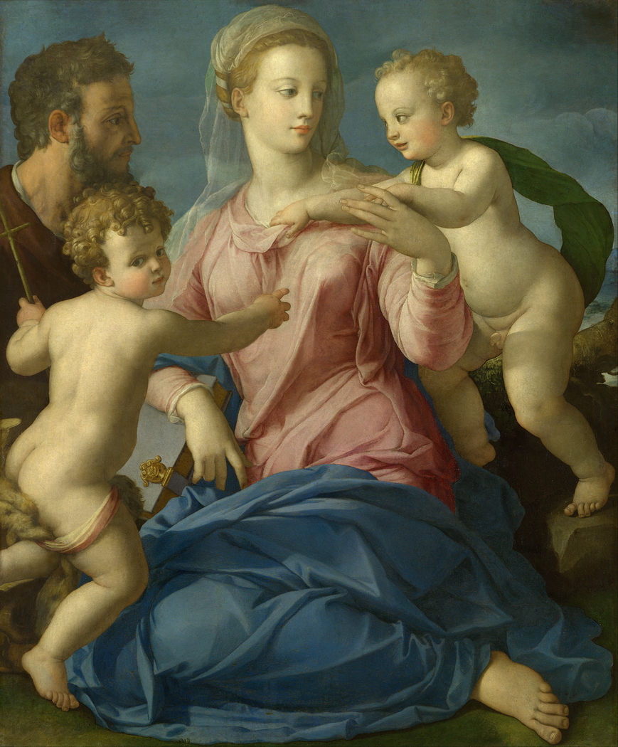 The Holy Family with the Infant Saint John the Baptist (Madonna Stroganoff)