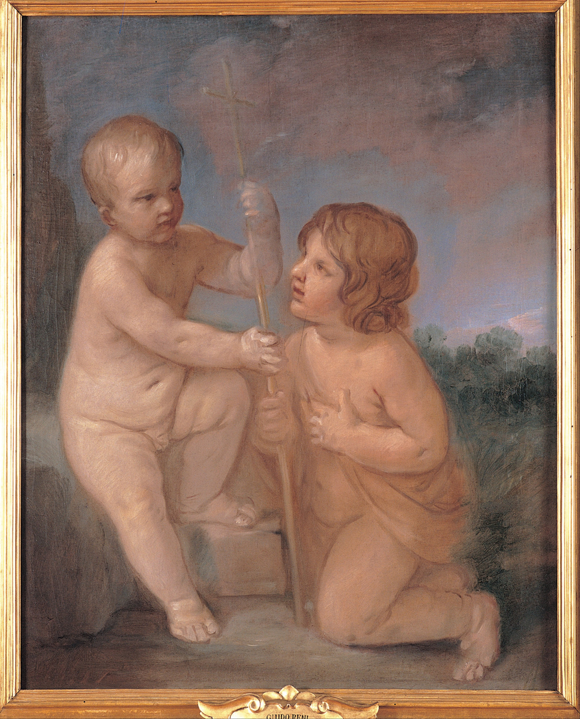 The infant Jesus and St. John