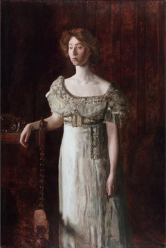 The Old-Fashioned Dress (Portrait of Helen Montanverde Parker)