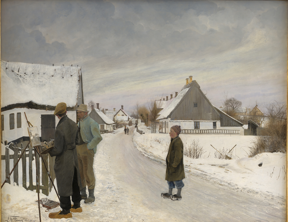 The Painter in the Village