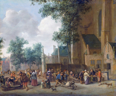 The river-fish market in the Hague